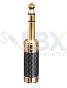 Wtyk duży jack 6,3 mm Cross-tech stereo