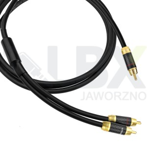 Kabel 1 RCA - 2 RCA typu Y do subwoofera Klotz